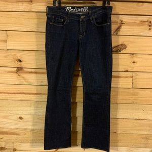 Madewell bootcut Jeans size 29 32 dark wash